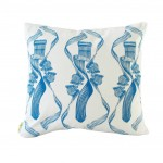 Dance! T.Blue on White Cushion (Front)