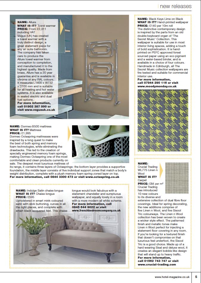 Hotel Magazine - March 2013