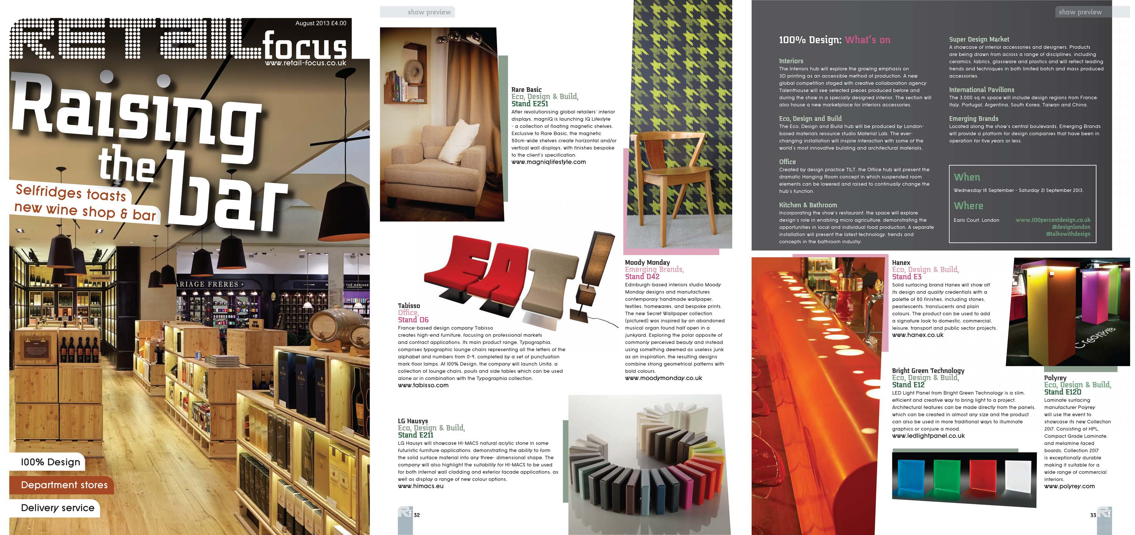 Retail Focus - August 2013