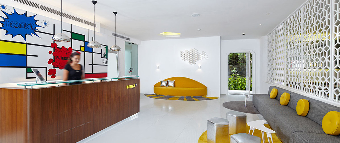 Photo: Studiotel Lobby.  ©Luna2 2015.