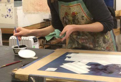 Reactive & Acid Stencil Printing