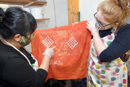 Traditional Indonesian Batik Making Summer Course