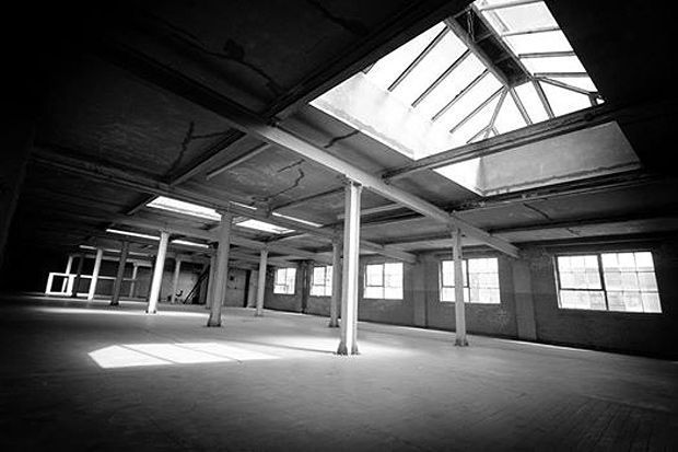 The Biscuit Factory, the former factory converted into a 7,500 foot venue/gallery space
