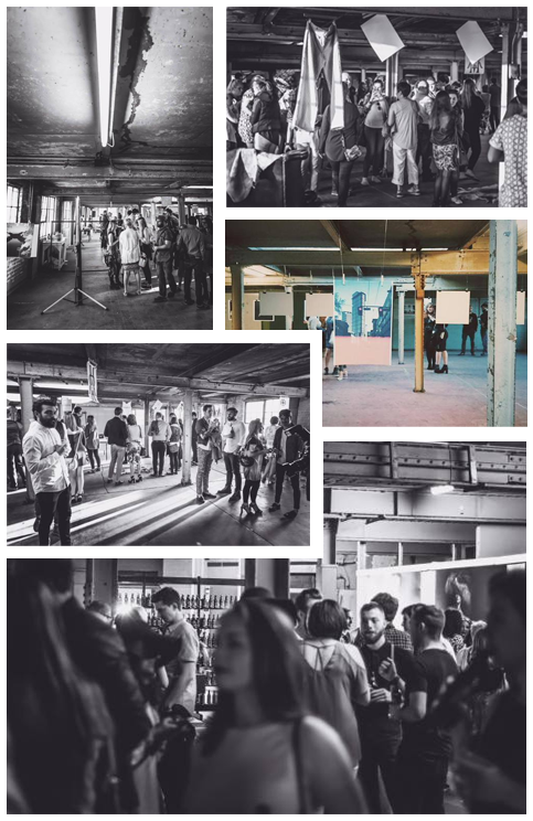The Biscuit Factory, arts hub and home to photographers and designers, offers the perfect backdrop for pop-up events.