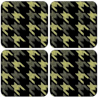 Black Keys Melamine Coasters x4