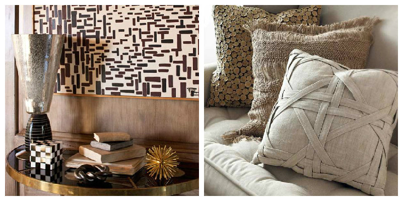 Texture Variations in Interior Design , Moody Monday