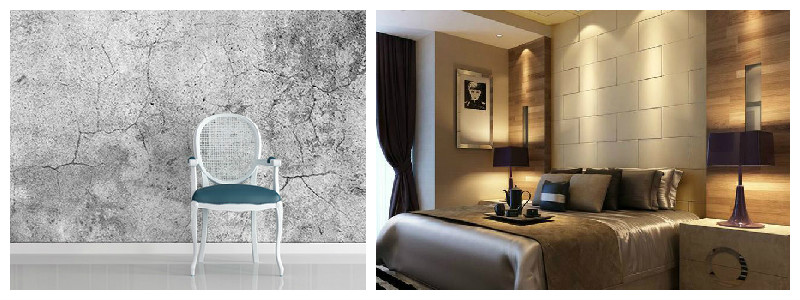 Textured wall coverings
