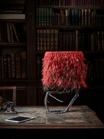 lamp with bird legs