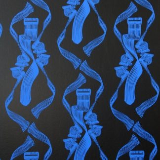 Dance! R.Blue on Black (Close)