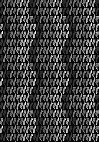 Geometry Greyscale on Black (3 drops)