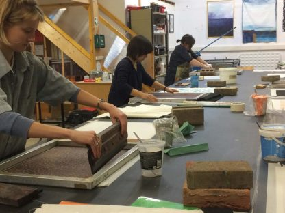 Textiles Printing Level 1, Oct-Dec18