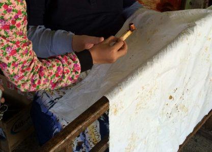 Making Batik Tulis