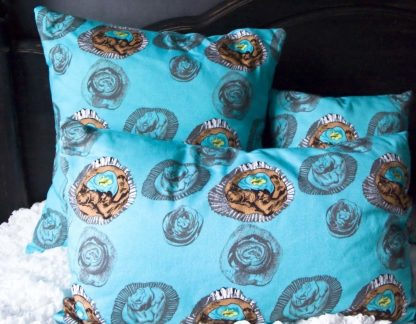 O What Sweet Delights! Mixed Size Cotton Cushions""