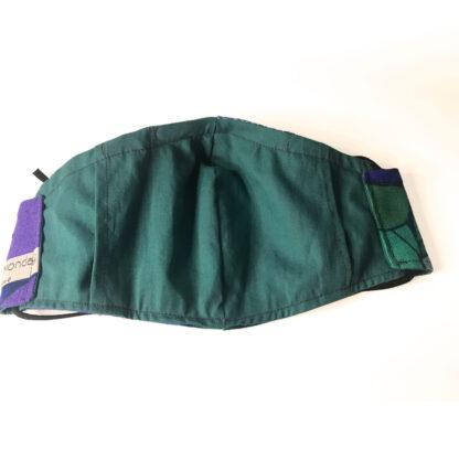Vintage – Teal/ Purple/ Blue Floral - Reverse