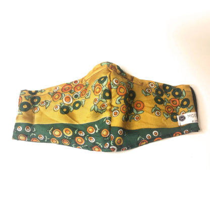 Vintage – Yellow/ Green Geometric - Front