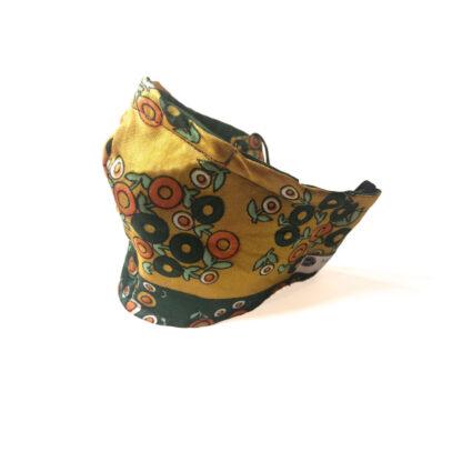 Vintage – Yellow/ Green Geometric - Side