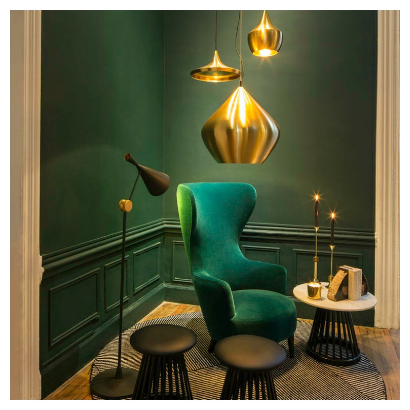 How to use emerald green in interior design moody monday - Green interior design ...