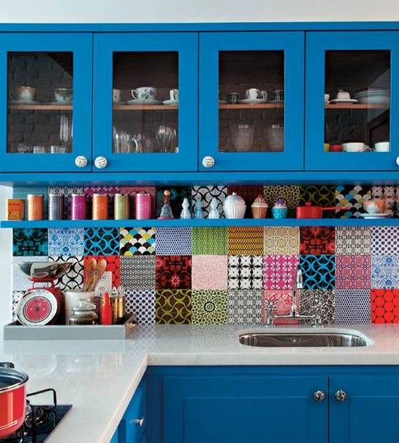 branded tiles_colourful modern kitchen