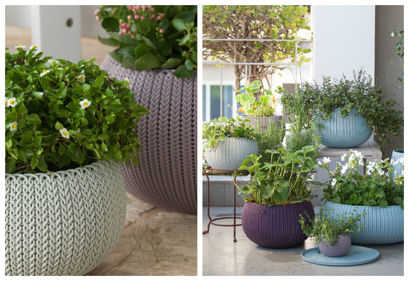 contemporary planters_knitbycurver